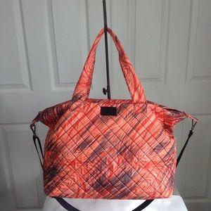 Handbags - Steve Madden Weekender Bag Black & Orange